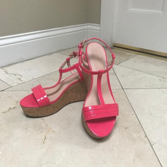 b2bf8f2e58b Kate Spade New York Shoes - Kate Spade NY Lipstick Pink Tallin Sandal 10M   150